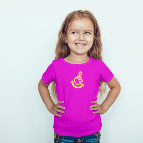 Kindershirt – Ankerherz