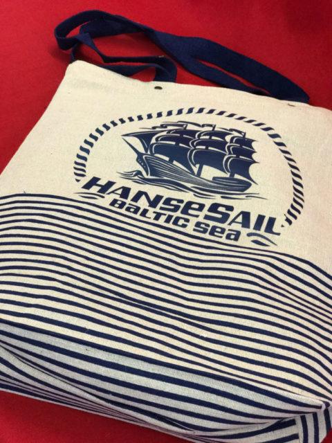 Stabiler Jutebeutel Hanse Sail