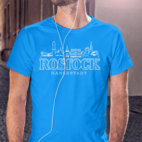 T-Shirt Rostocker Skyline T-Shirt