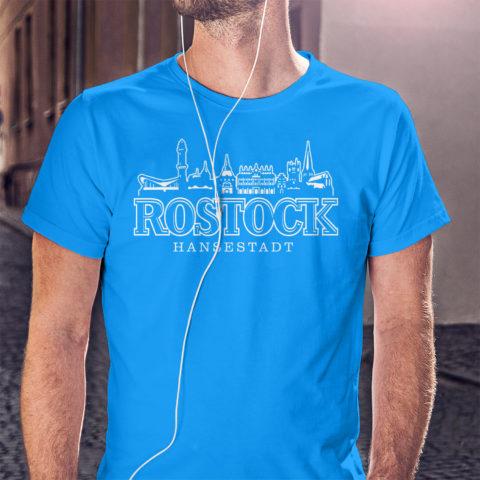 T-Shirt Rostocker Skyline T-Shirt