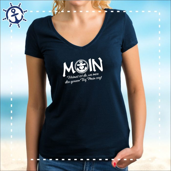 Damenshirt Moin Heimat