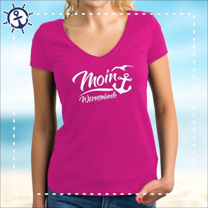Damenshirt Moin Warnemünde