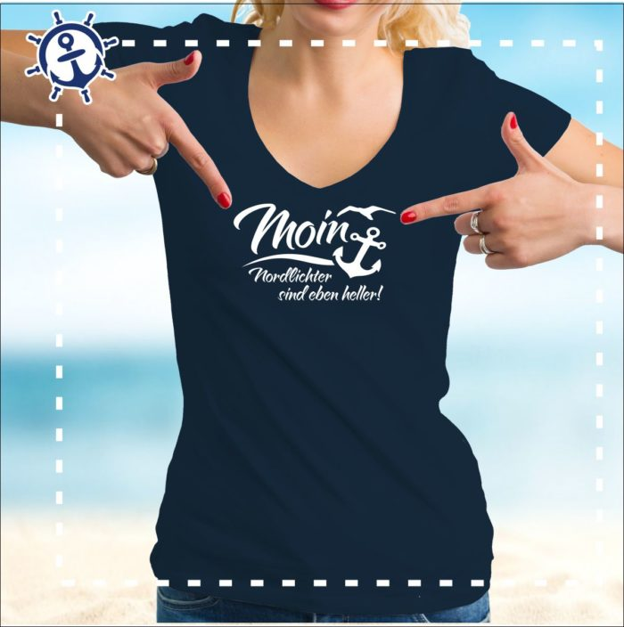 Damenshirt-Moin-Nordlichter
