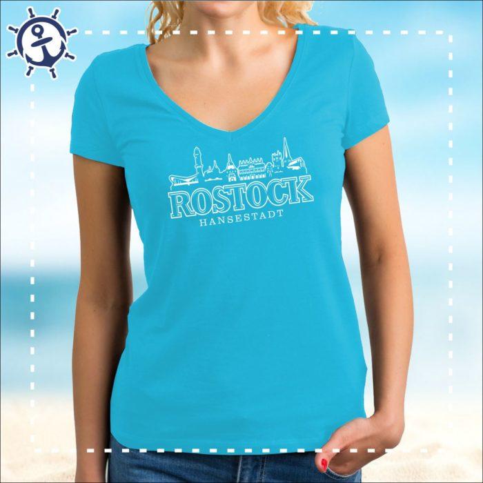Damenshirt Rostock