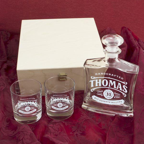 Personalisierte Whisky-Geschenksets