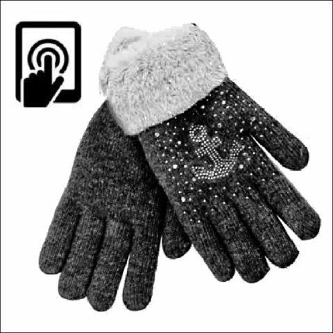 Handschuh mit Anker
