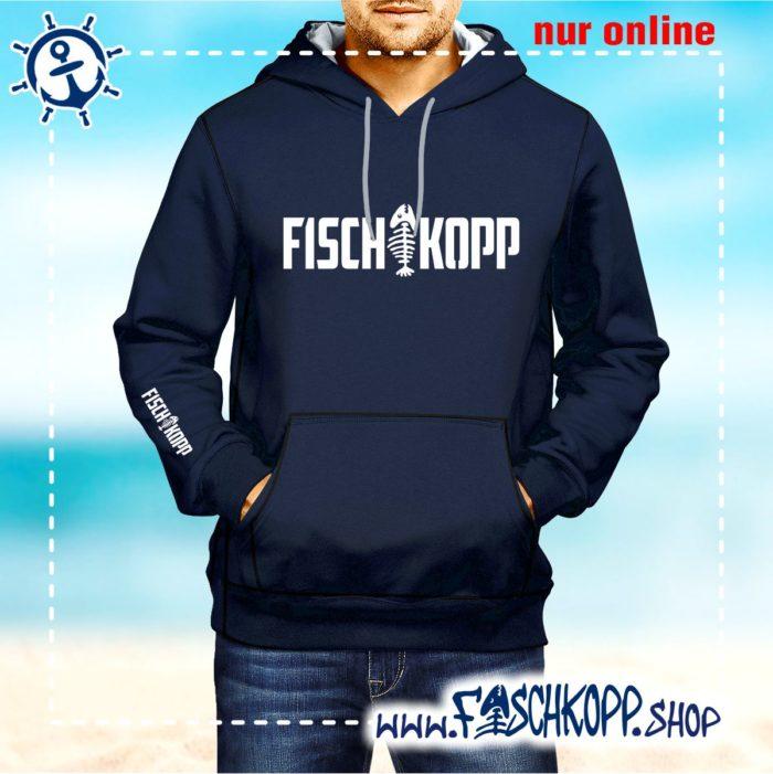 Kapuzen Shirt Fischkopp vorne