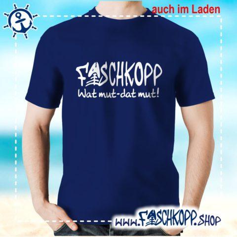 Fischkopp T-Shirt 2016 navy