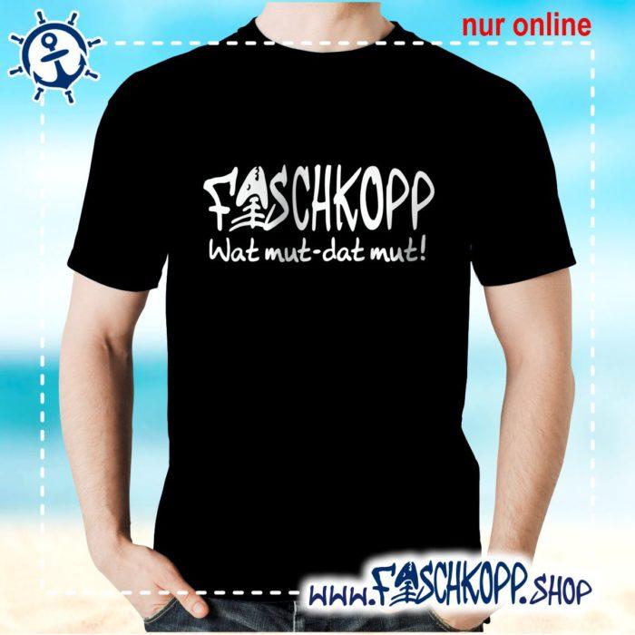 Fischkopp T-Shirt 2016 schwarz