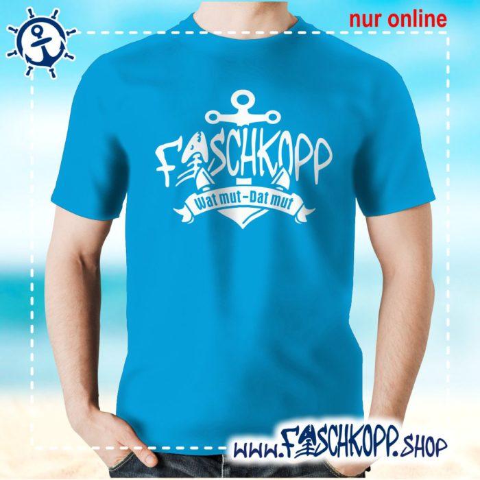 Fischkopp T-Shirt 2017 atoll-blau