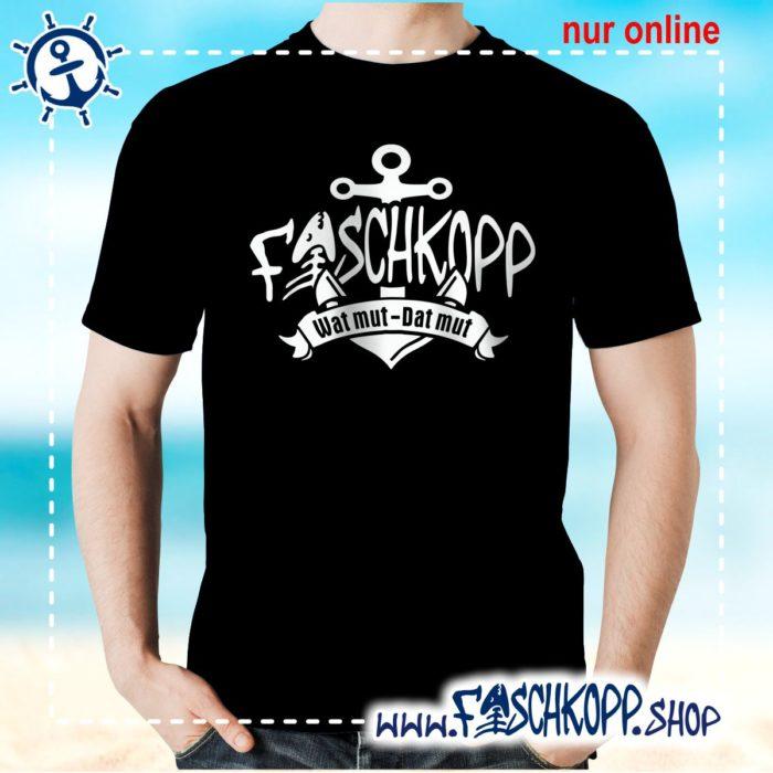 Fischkopp T-Shirt 2017 schwarz