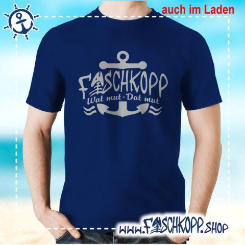 Fischkopp T-Shirt 2018 navy