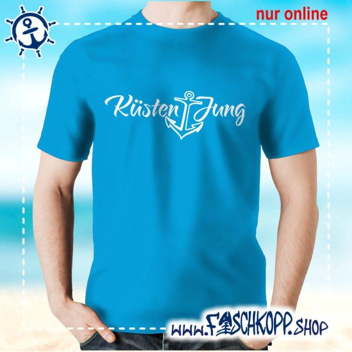 Kultshirt Küstenjung T-Shirt atoll-blau