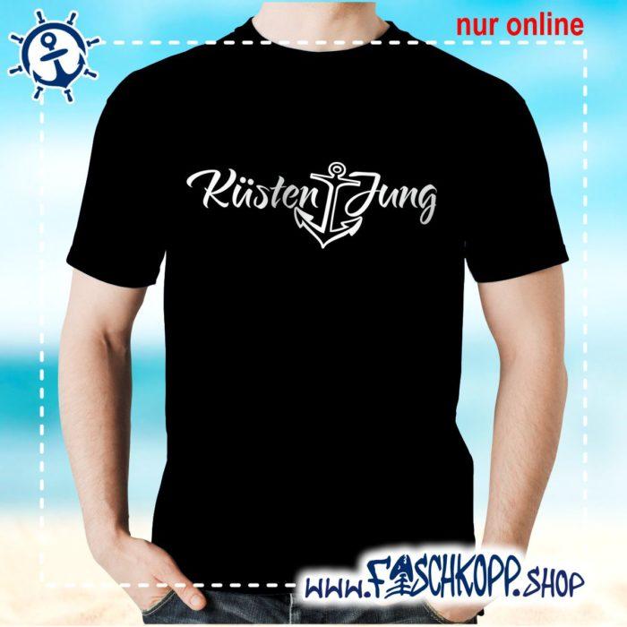 Kultshirt Küstenjung T-Shirt schwarz