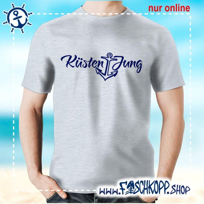Kultshirt Küstenjung T-Shirt grau meliert