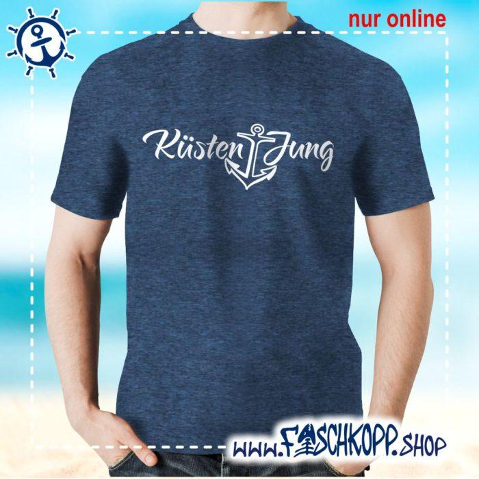 Kultshirt Küstenjung T-Shirt navy meliert