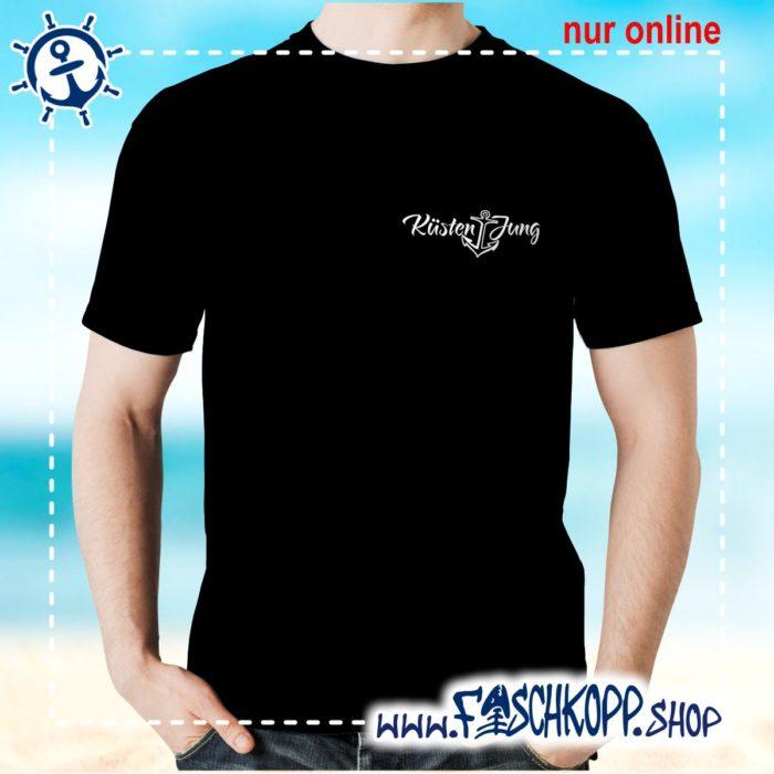 Kultshirt Küstenjung klein T-Shirt schwarz