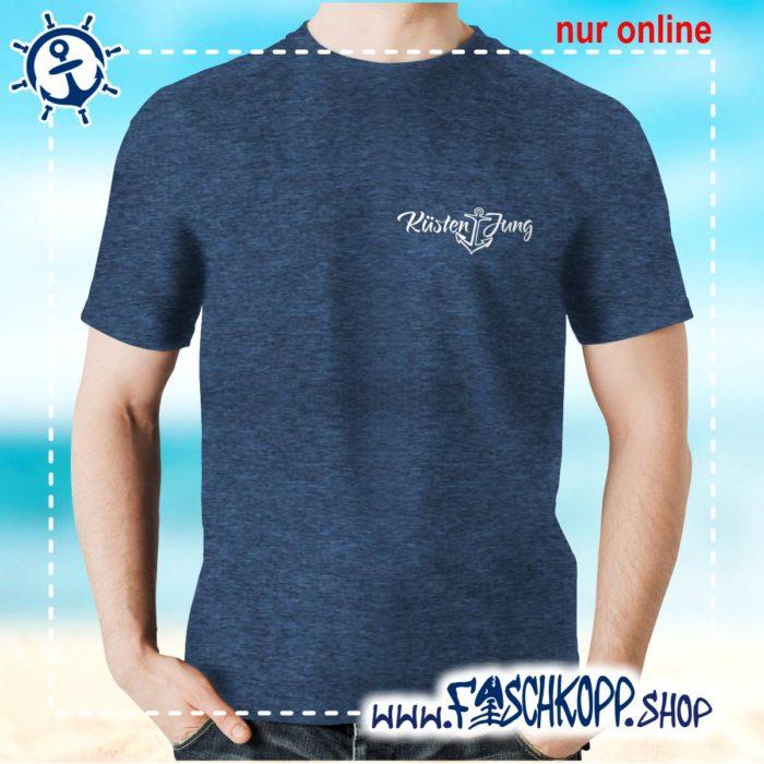 Kultshirt Küstenjung klein T-Shirt navy meliert