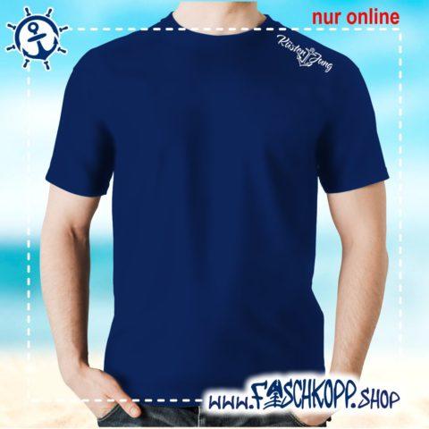 Kultshirt Küstenjung Schulterdruck T-Shirt navy