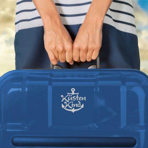 Aufkleber Küstenkind Anker Laptoptasche