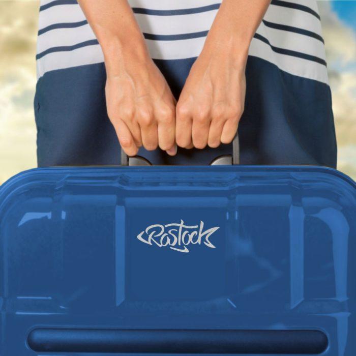 Aufkleber Rostock Fisch Laptoptasche