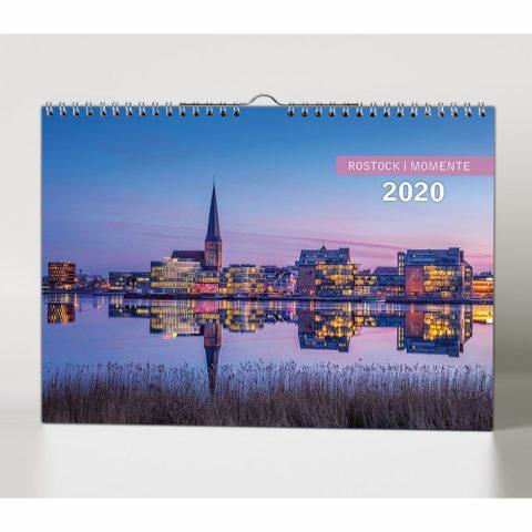 Bildkalender Rostock und Warnemünde 2020 Titel